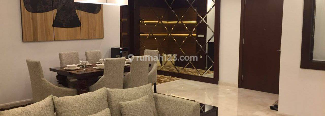 Apartemen Essence Dharmawangsa South Tower 3 BR Furnished