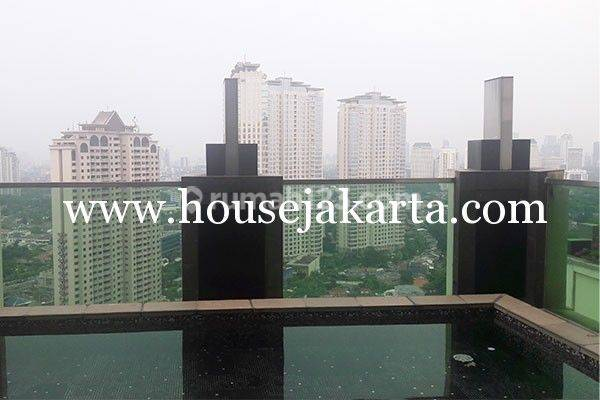 Penthouse Apartemen Pakubuwono Residence private pool 2 lantai