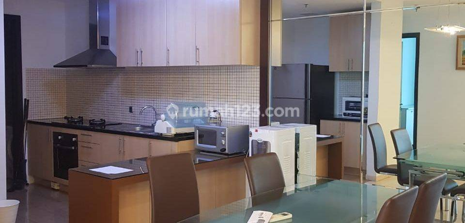 Apartemen Setiabudi Residence 3BR Tower A Low Floor View South
