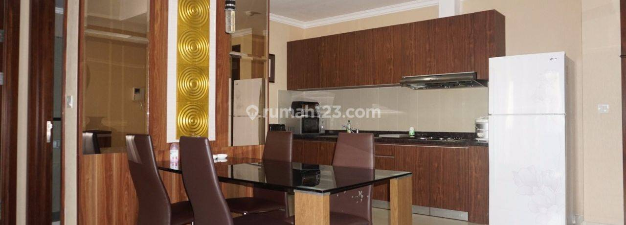 Apartemen Denpasar Residence 2+1 BR Kintamani Tower Full Furnished View City Middle Floor