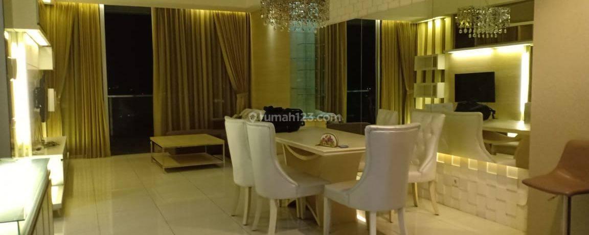 Apartemen Kemang Village 3+1 BR High Floor Ritz Tower Furnished