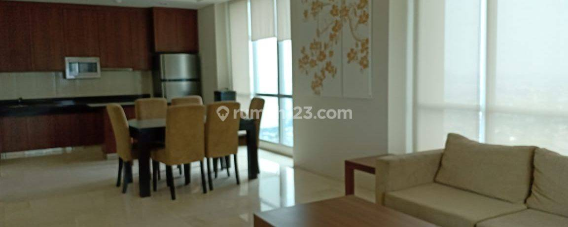 Apartemen Kemang Village 3 BR Middle Floor Tiffany Tower Full Furnished Private Lift