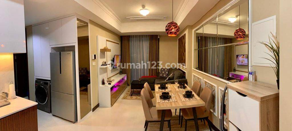 Casa Grande Residence Phase 2, 2BR, Connect with Kota Kasablanka Mall that Help You to Fulfill Your Daily Need