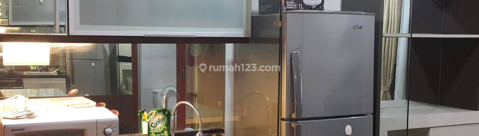 Thamrin Residences 1BR, L type. middle floor