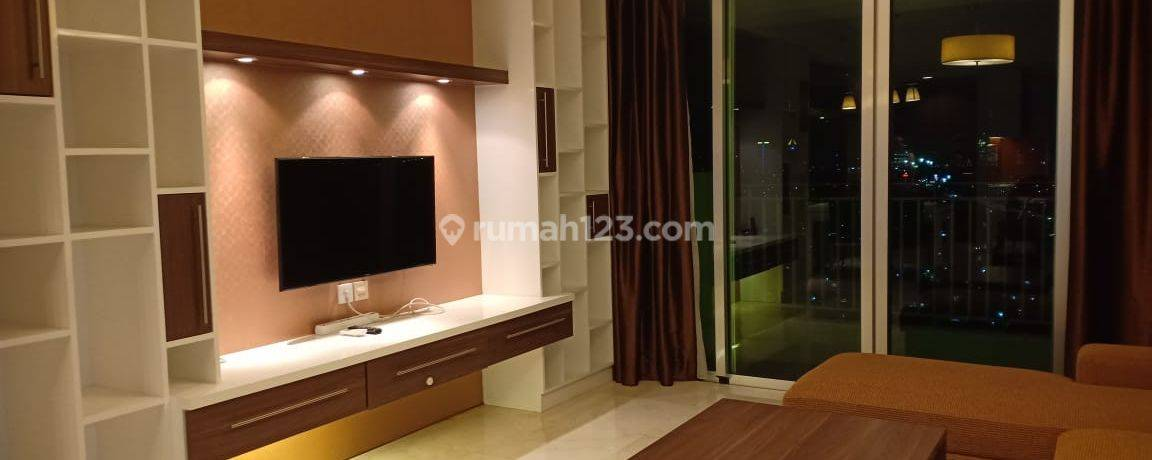 Apartment Kemang Village 2BR Cosmo Tower Full Furnished High Floor