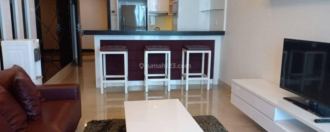 Apartemen Residence 8 1BR Tower 2 Full Furnished Middle Floor Siap Huni