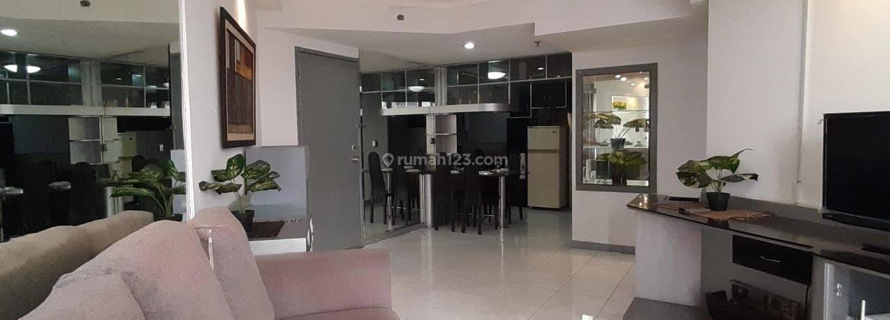 Apartmen Taman Rasuna,3br jd 2br,fully furnished,unit bagus,renovasi,siap dihuni