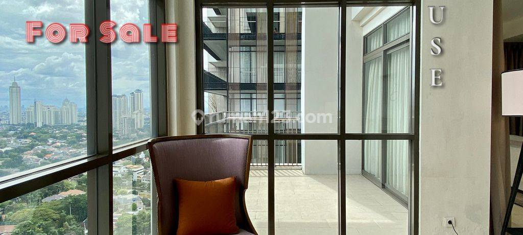 Unit PentHouse Senopati Suites Apartment Tower 1. With nice Private Pool and City View
