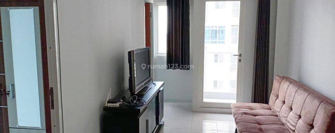 Sewa Apartemen 2 BR, Hook/Pojok, Furnished, View City & Suramadu, Siap Huni