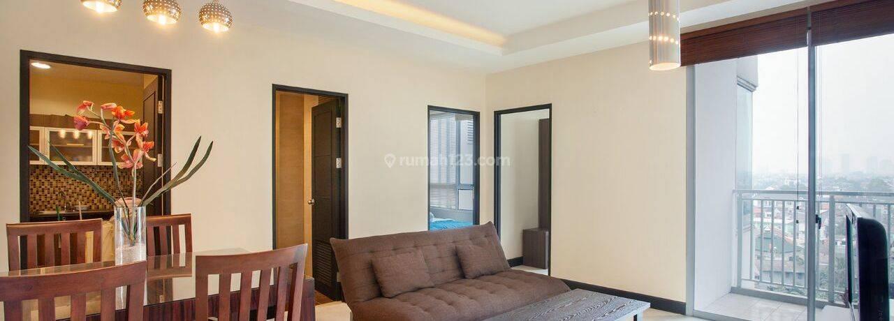 Apartemen Essence Darmawangsa 2BR on the 8th Floor | Fully Furnished