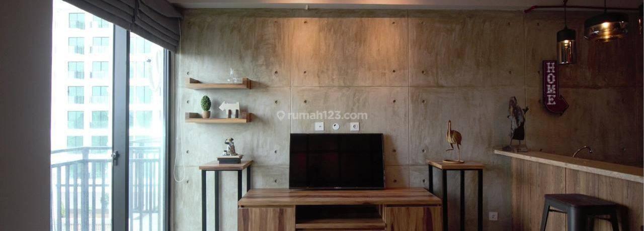 Nine Residence 1BR Lantai 9   Fully Furnished