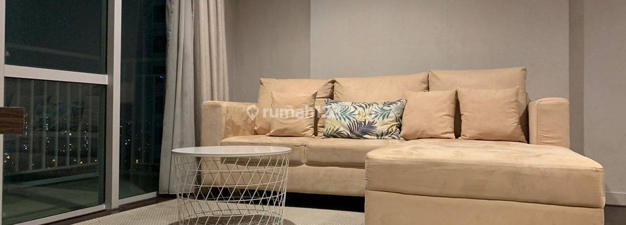Apartemen Denpasar Residences, Kuningan City, 2br, unit bagus, fully furnished