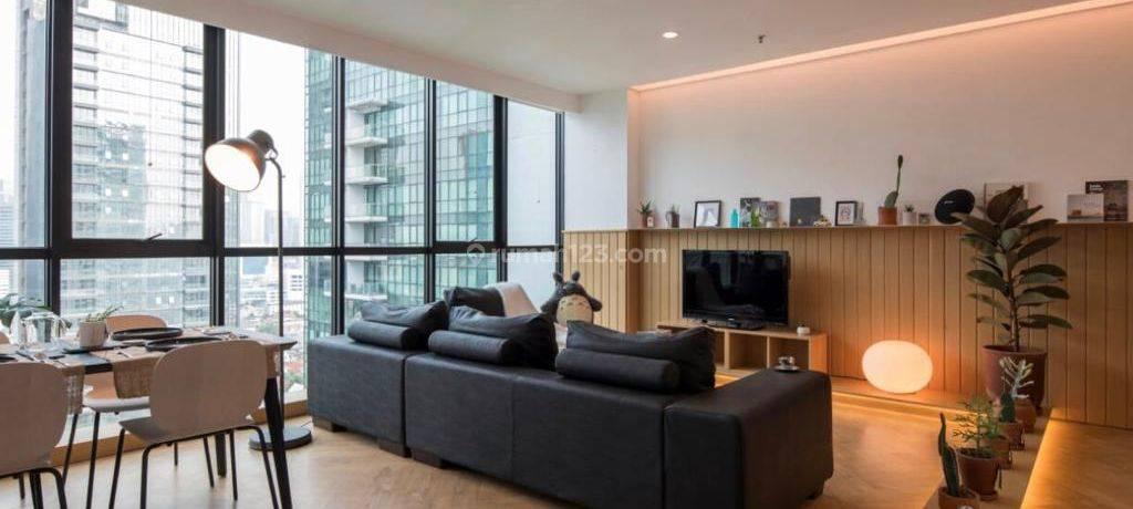 Setiabudi Residence,Unit bagus,fully renoavted,2br,lantai tinggi,siap huni