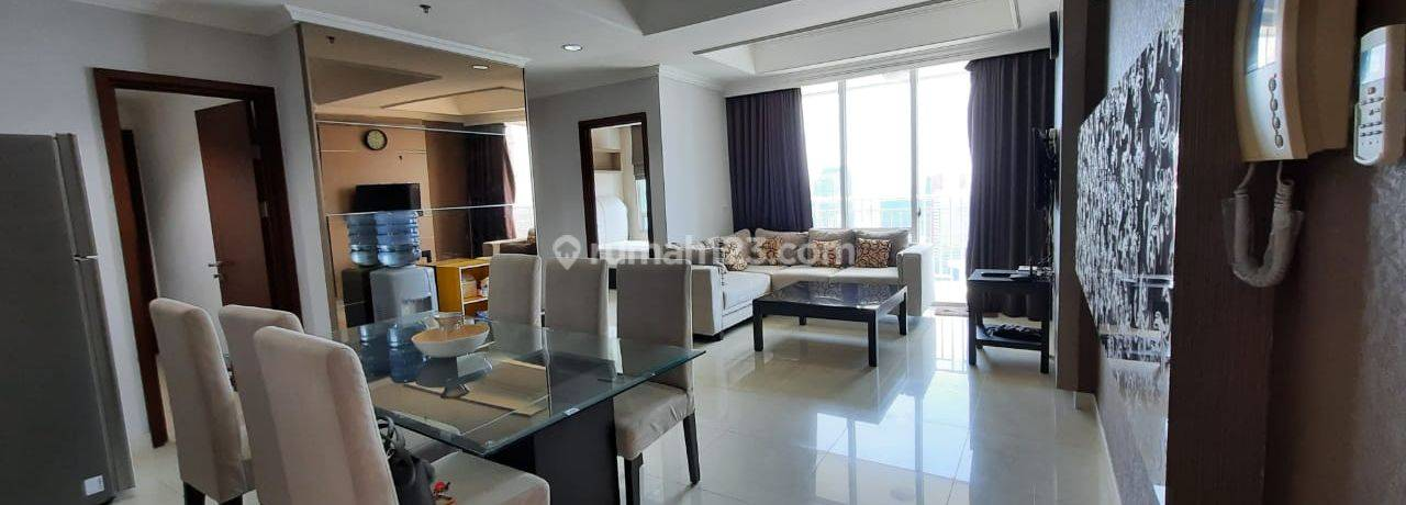 Apt. Denpasar Residence, 2br, 94 sqm, connect to kuningan city, full furnished, good deal!