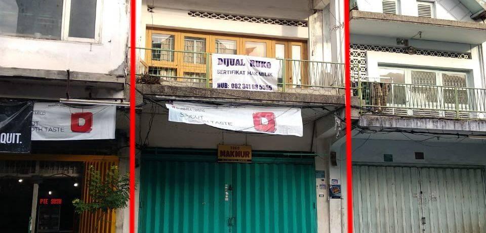 Ruko Area Bisnis di Jl. Kartini - Denpasar