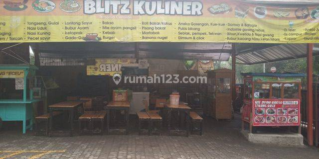 Lapak Kios Kuliner Bintaro Sektor 9 dekat Fresh market,Pasmod,Marchand