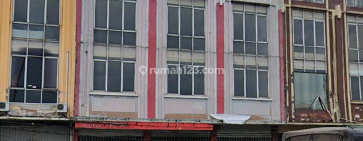 Ruko Gandeng Jl. Makaliwe raya, Grogol, Jakarta Barat, 13x24m, 4½ Lt, HGB