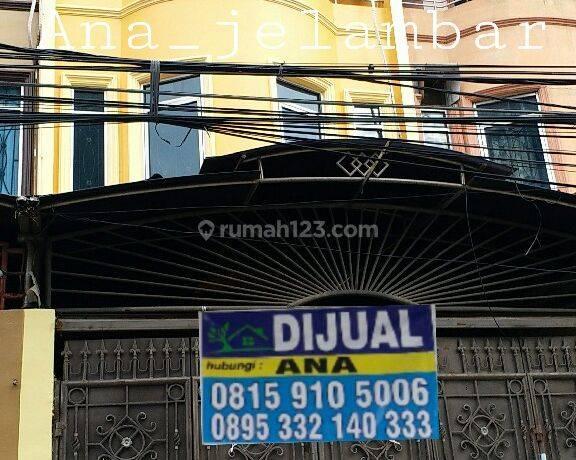 Rumah 4,2x21m lokasi Ramai Strategis di Jelambar