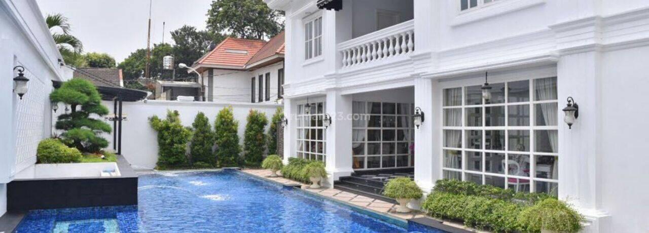 Rumah Mewah Klasik Pejaten Barat All Furnished
