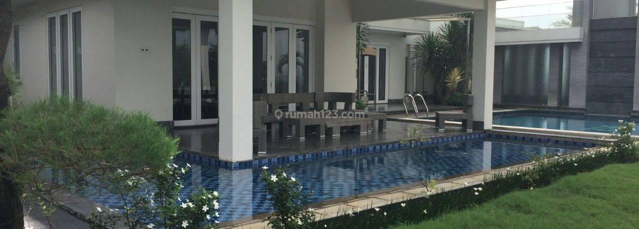 Rumah Mewah Model Bungalow di Sentul City Bogor