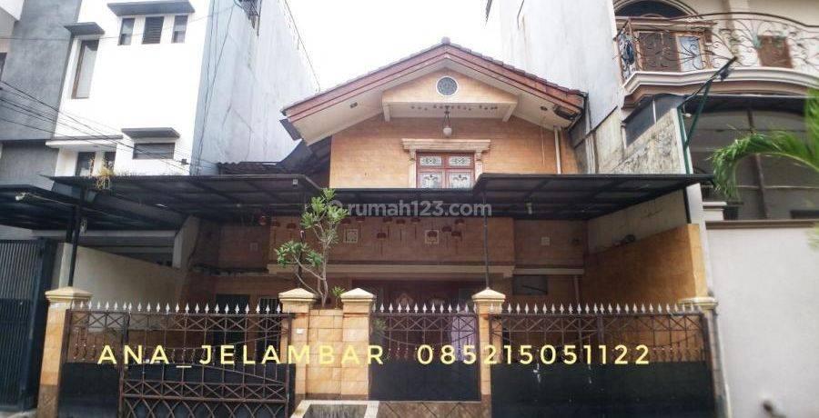 ANA_JELAMBAR Rumah uk 9x18m Hadap Selatan dalam komplek Duta mas Jelambar