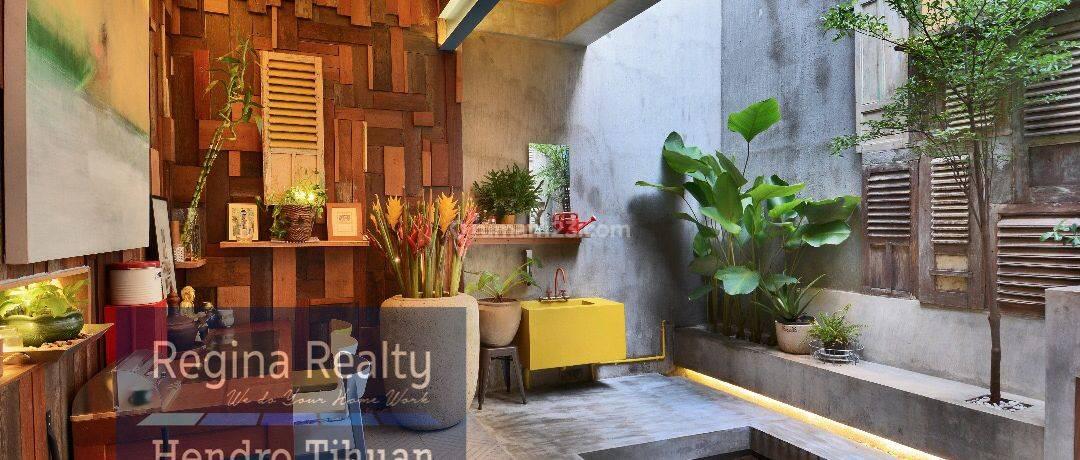 Rumah Cantik Unik di Pondok Indah
