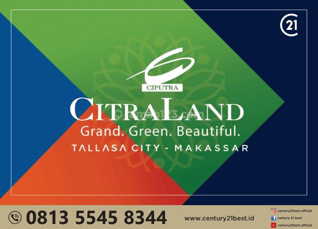Rumah Citraland Tallasa city Cluster Terracotta type Portofino dekatjkampus unhas