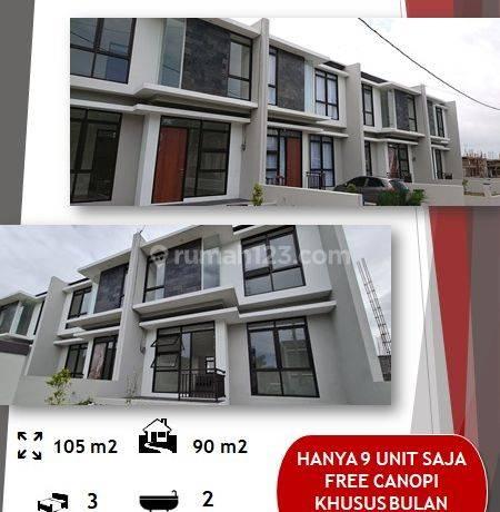 Rumah 2 Lantai Sejuk Cimahi Tengah, Dekat Alun2 dan Pemkot Cimahi, Strategis 1M an