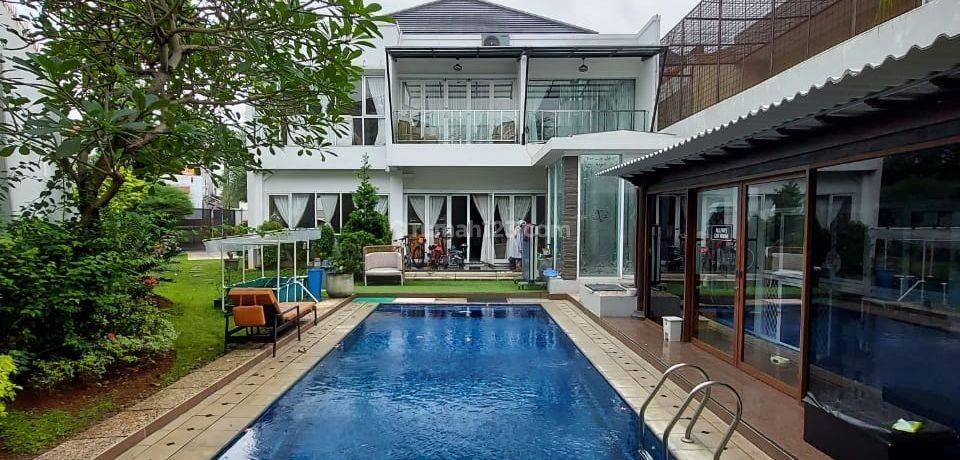 Rumah mewah sangat terawat,private s pool,halaman luas,lingkungan komplek permata hijau,kebayoran lama-jakarta selatan