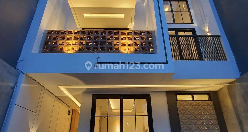 IP2281: Rumah Baru Modern Komplek Green Ville Duri Kepa