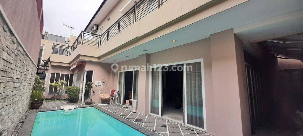 Rumah Lux Siap Huni Di Area Exclusive Cipete, Jakarta Selatan