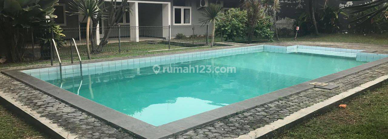 BEAUTIFUL*ONE*STOREY*HOUSE*WITH*PRIVATE*POOL*IN*KEMANG~IDR 415JT/YEAR