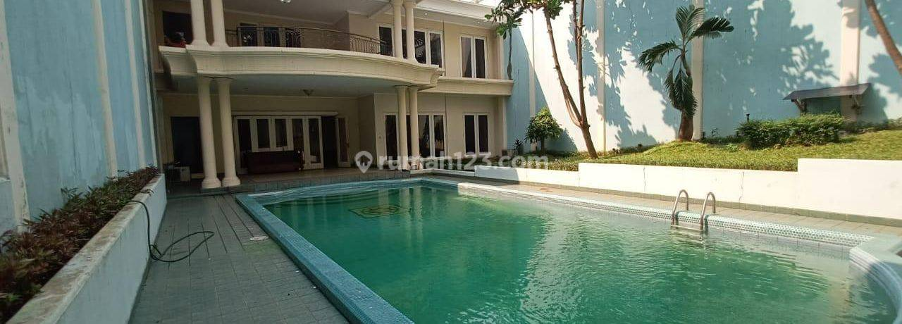 HOUSE*CIPETE*UNFURNISED*S~POOL*4BEDROOMS~IDR350JT/YEAR