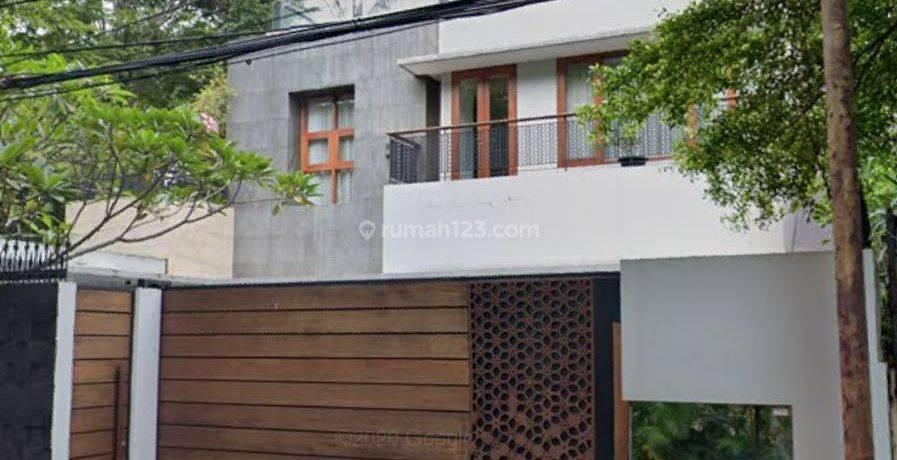 Rumah Mewah 2 Lantai Kuningan Jl Dukuh Patra Menteng Dalam Jakarta Selatan Strategis