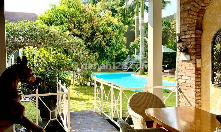 Luxury Home at Golf BSD City Mix European Style and Resort Bali