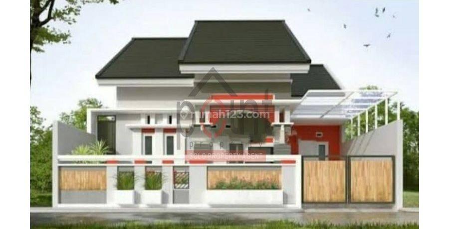 Rumah Proses Bangun di Ngemplak Kartasura (AD)