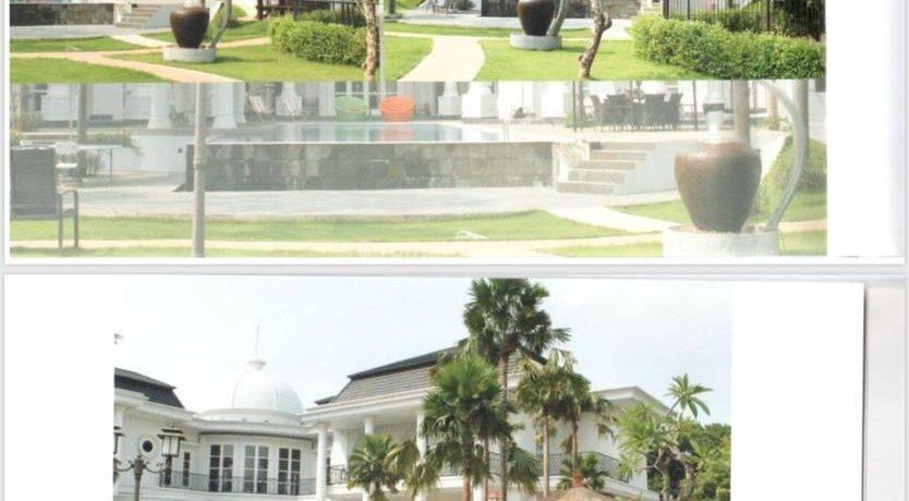 Rumah mewah super luas butuh dana di jantung kota di Cilandak Jakarta Selatan