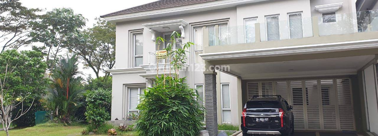 House at BSD City Corner with Pool and Big Garden