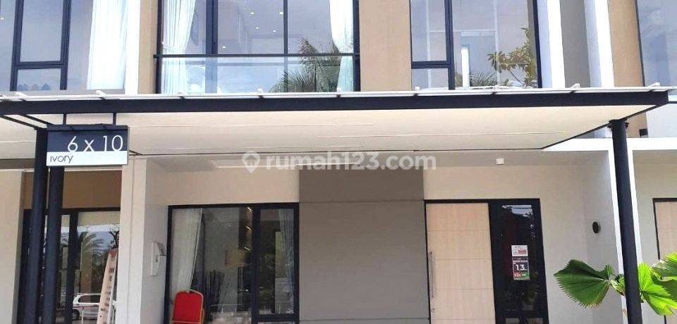 PIK 2 Rumah Milenial Uk 6x10 Promo KPR DP Diskon 5%. Free Smart Home