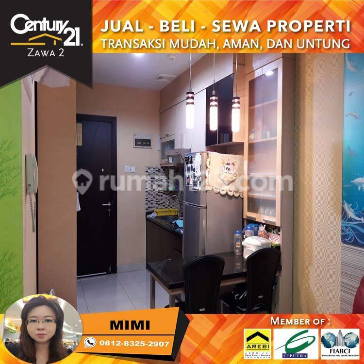 Apartemen Central Park Residence 1BR Full Furnished Lantai Rendah