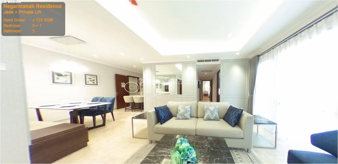 Apartement termewah di Bandung, Hegarmanah Residence, type Jade