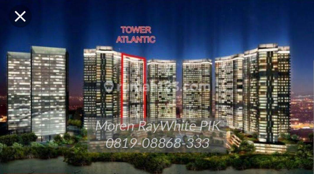 Disewa apartemen goldcoast tower atlantic type studio