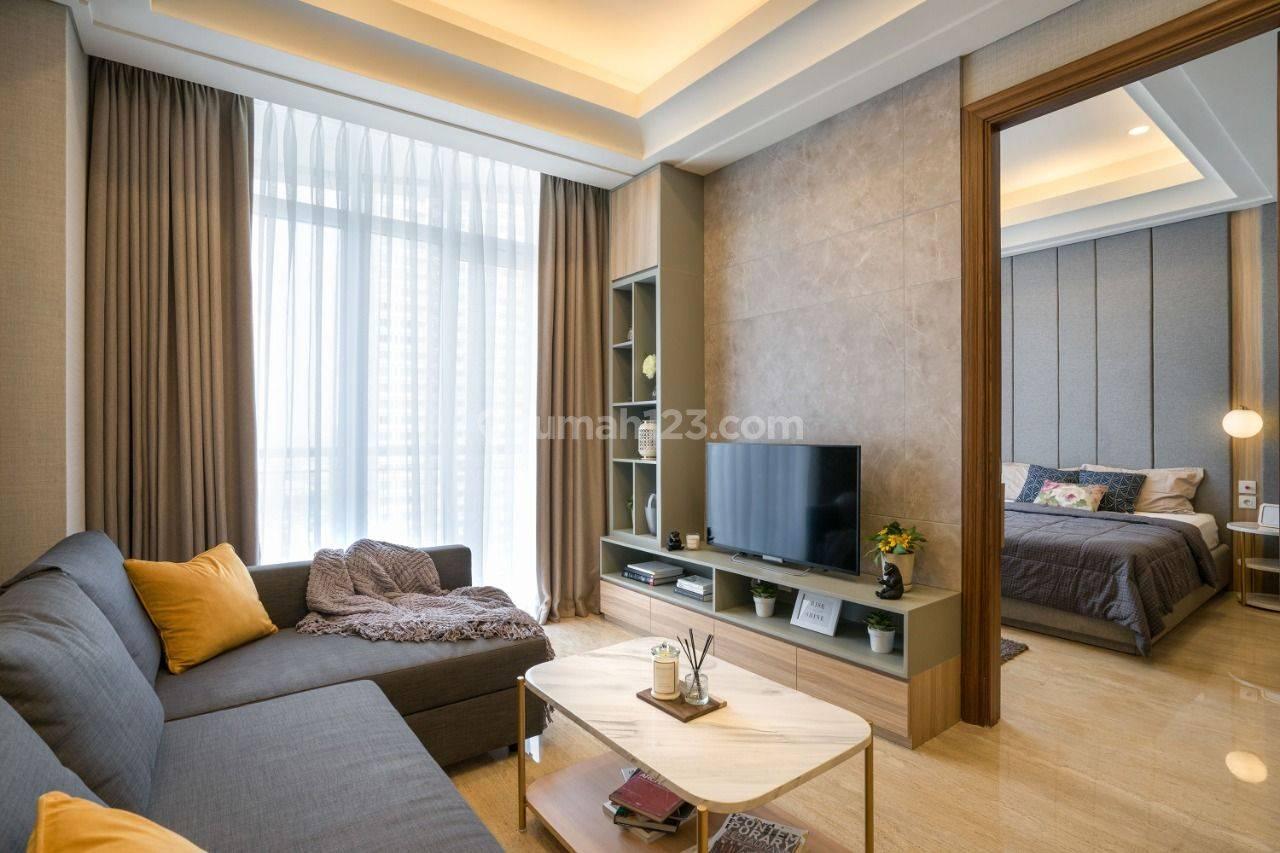 Private Lift Apartment, SOUTH HILLS at Setiabudi, Kuningan, South Jakarta, 1 Bedroom, Full Furnished