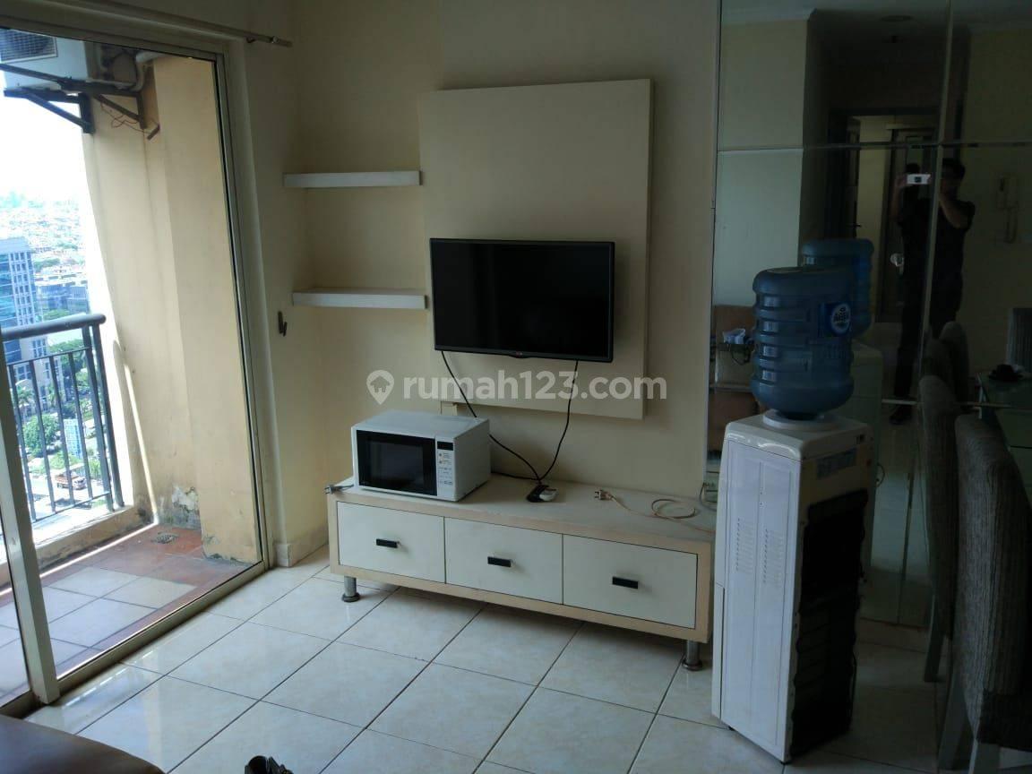Apartemen City Home MOI 2 kt lb. 45 siap huni lantai tinggi view city