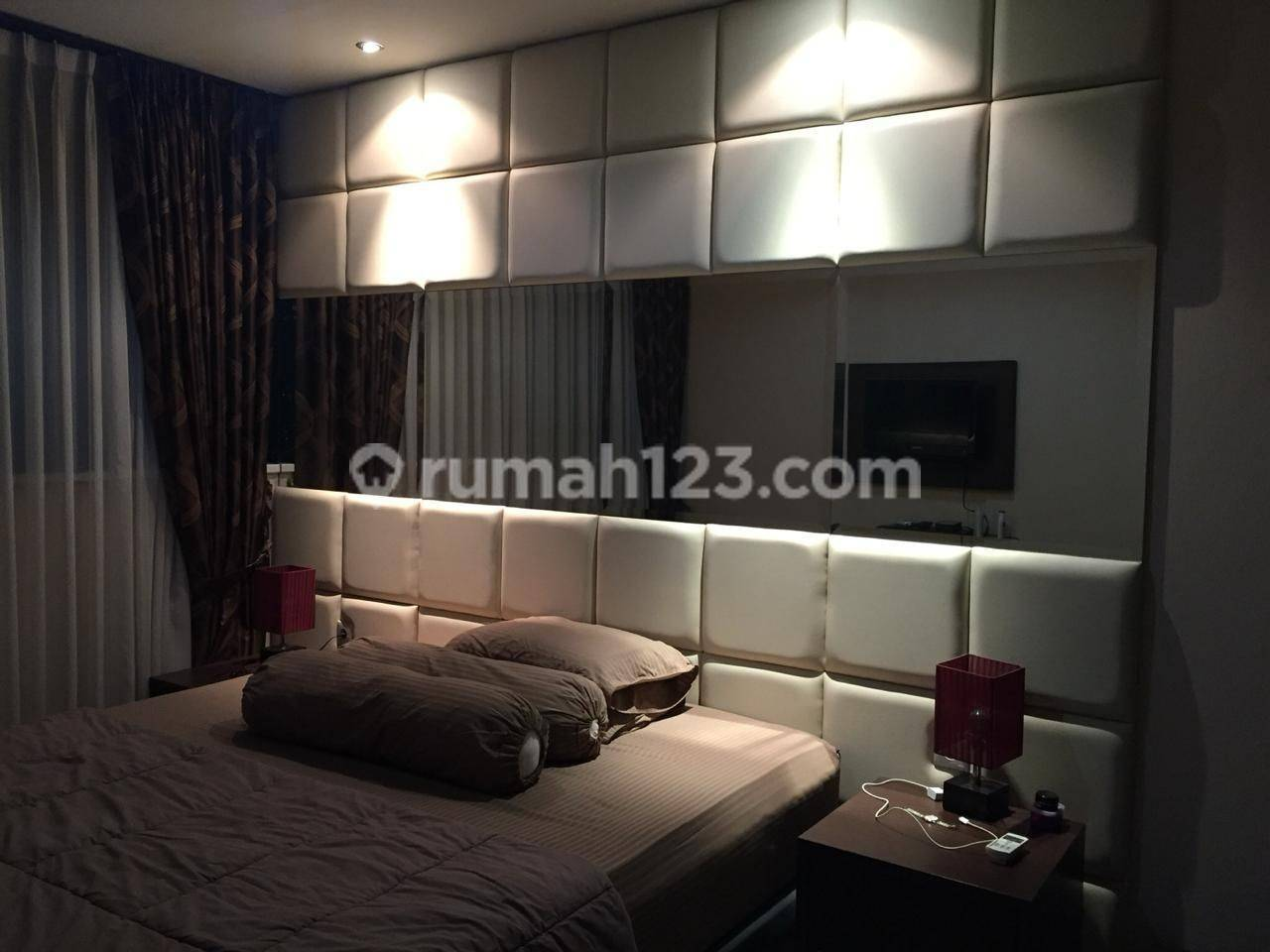 APT THE LAVANDE FLOOR 26 TYPE 2BR FURNISHED CHEAP AND GOOD UNIT