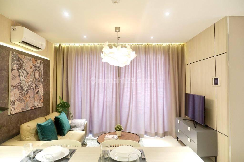 Full Furnished Apartment Tipe 2 Bedroom di Sebelah Binus University Alam Sutera