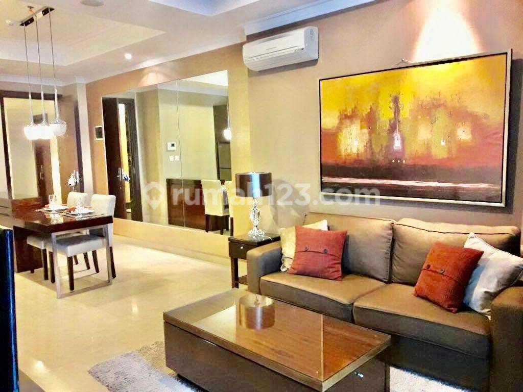 Apartment Residence 8 Senopati 1BR Luas 78sqm Fully Furnished Modern Minimalist Style