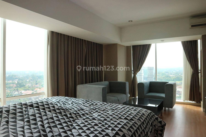 Apartement hook dengan double view Merapi dan lapangan golf Hyatt