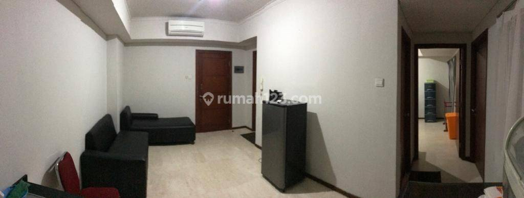 APARTEMENT ROYAL MEDITERANIA GARDEN TOWER MARIGOLD (Connect dengan Mall Central Park) JAKARTA BARAT-2BR+1 SEMI FURNISHED