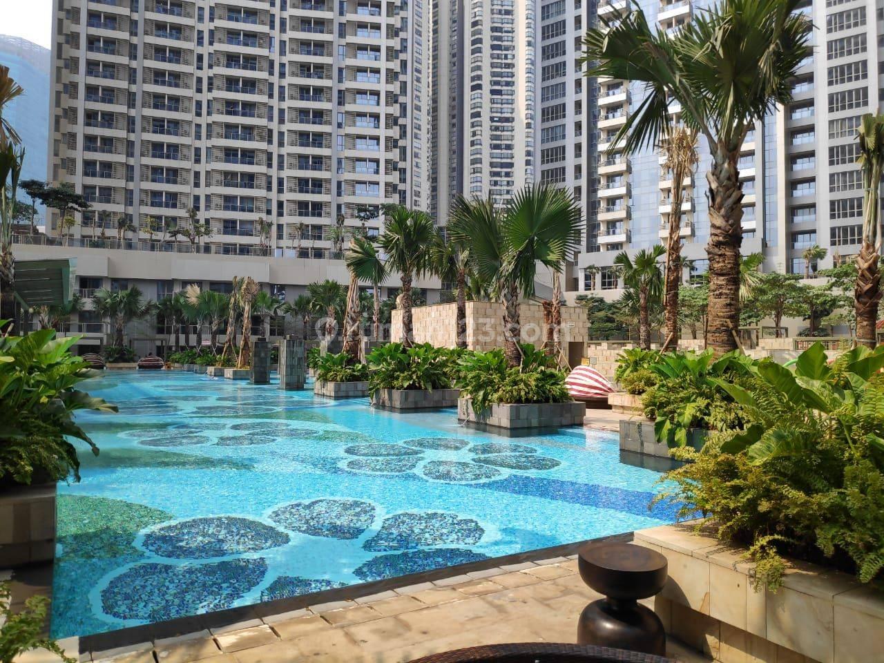 CEPAT ! Unit 2 bedroom Taman Anggrek Residence Lantai Tengah